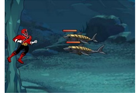 Power Rangers Deep Sea Defense - Power Rangers Games