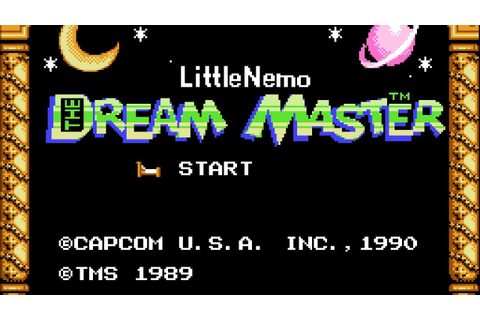 Little Nemo: The Dream Master - NES Gameplay - YouTube