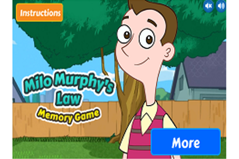 MILO MURPHYS LAW GAMES - CUTE GAMES ONLINE