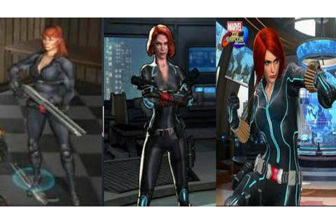 Evolution of Black Widow in games [ 2005 - 2017] - YouTube