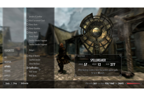 Spellbreaker at Skyrim Nexus - mods and community