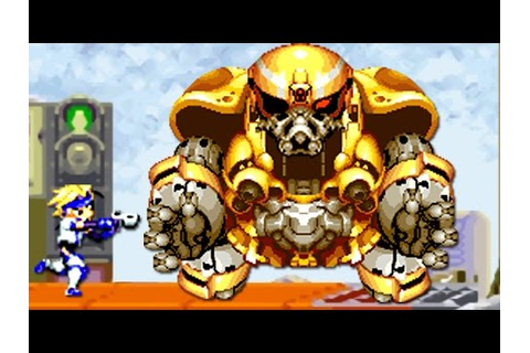 Gunstar Super Heroes (GBA) All Bosses (No Damage) - YouTube