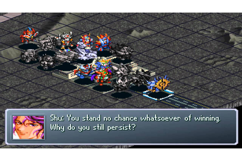 Super Robot Wars Alpha Gaiden - Posession Cybuster event ...