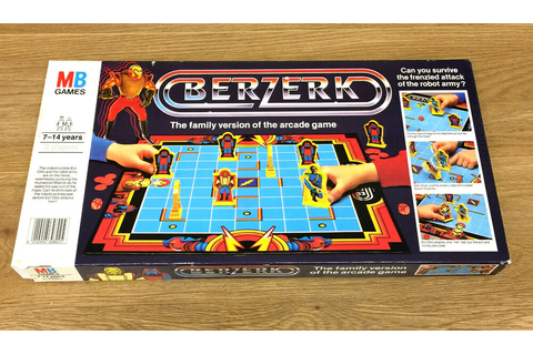 BERZERK Board Game by MB Games | eBay