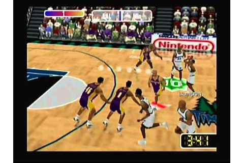 NBA Courtside 2 Featuring Kobe Bryant (Nintendo 64) Game ...