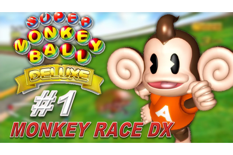 Super Monkey Ball Deluxe - Race (Party Game) - YouTube