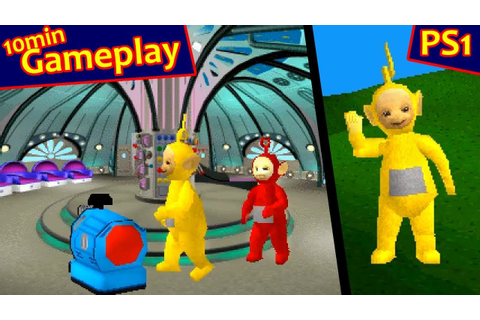 Play with the Teletubbies ... (PS1) 60fps - YouTube