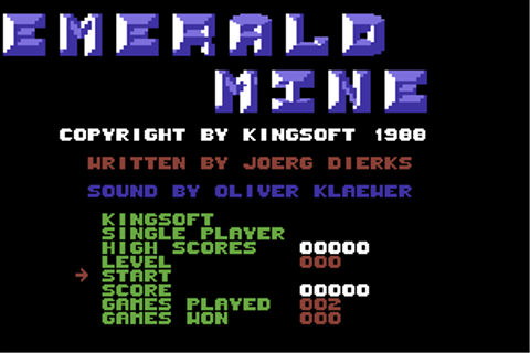 Download Emerald Mine - My Abandonware