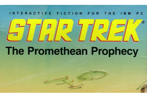 Star Trek: The Promethean Prophecy old DOS game - PC Games ...