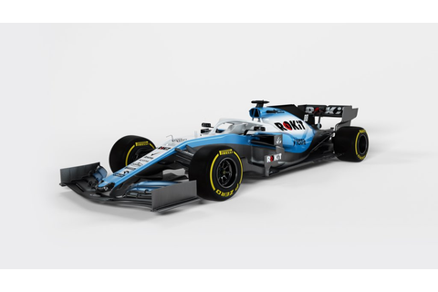 Williams releases images of their 2019 F1 car | Formula 1®