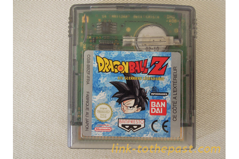 DRAGON BALL Z Game Boy Color - Boutique Rétro de Link to ...