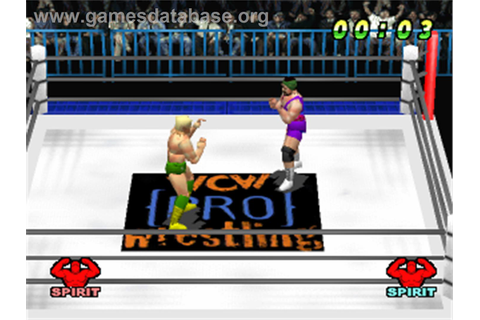 WCW vs. the World - Sony Playstation - Games Database