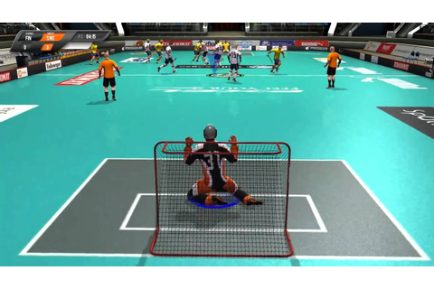Floorball League - Goalie - YouTube