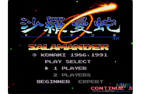 Salamander - Game - Nintendo World Report