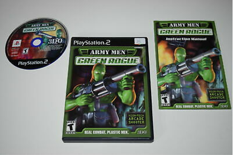 Army Men: Green Rogue (Sony PlayStation 2) PS2 GAME ...