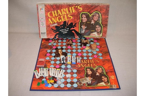 Charlies Angels Board Game 1977 Complete Farrah Fawcett
