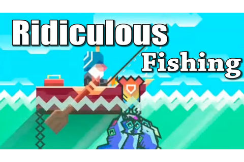 Ridiculous Fishing App Review & Gameplay - YouTube