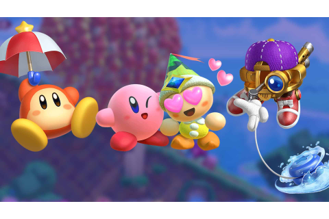 Kirby Star Allies | Helper showcase and new Copy Abilities ...