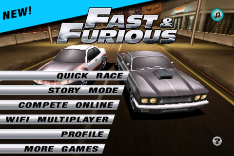 Fast & Furious The Game for iPhone - Download