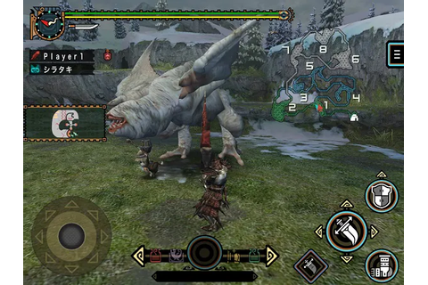 Monster Hunter Freedom Unite Now On iOS | Lowyat.NET