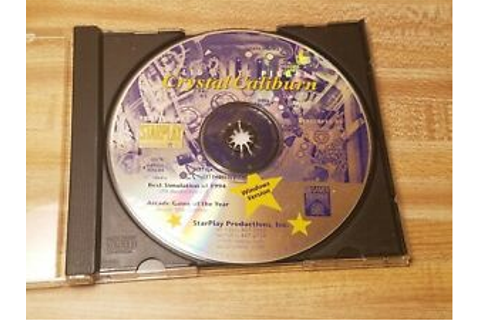 Crystal Caliburn PC Game DISC ONLY Good Condition! | eBay