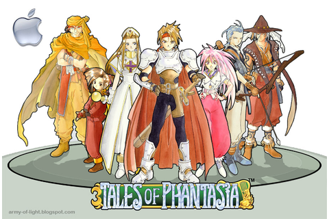 Army of Light - Games News and Stuffs: Tales of Phantasia ...