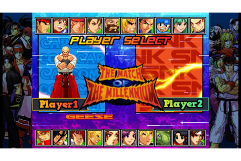 My Mugen Roster (SNK VS CAPCOM THE MATCH OF THE MILLENNIUM ...