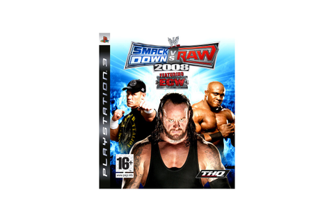 WWE Smackdown vs Raw 2008, PlayStation 3 - Specificaties ...