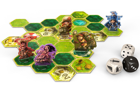 Zelda inspired adventure board game for the whole family ...