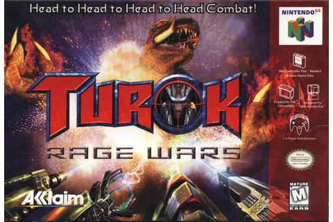 Turok Rage Wars Nintendo 64 Game