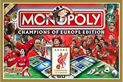 Monopoly - Liverpool Champions of Europe Edition: Amazon ...