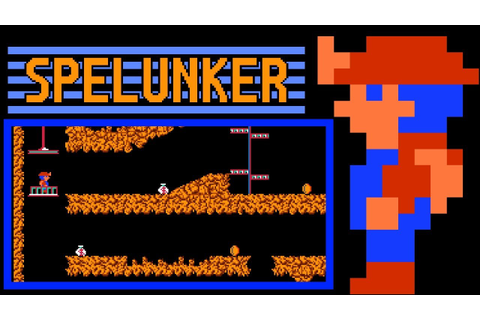 Spelunker (FC) | Playthrough - YouTube