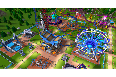 'RollerCoaster Tycoon' finally goes 3D on mobile