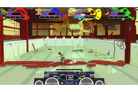 Lethal League - Online Battle 1 - Free For All PC HD ...