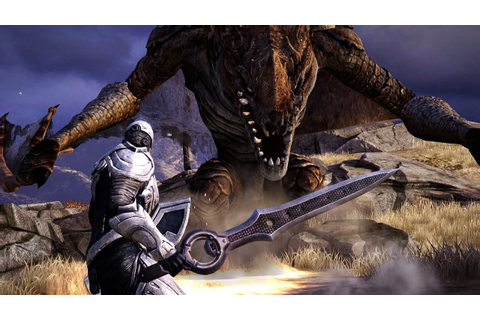 Infinity Blade 3 - Dragon's Death - YouTube