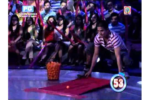 Jason Abalos plays 'Minute To Win It' for Yolanda victims ...