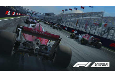 A new racing game launched today: F1 Mobile Racing ...
