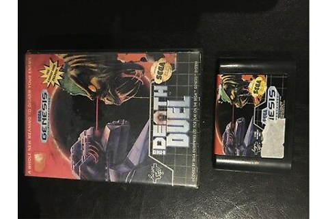 DEATH DUEL BOXED SEGA GENESIS GAME TESTED & WORKING | eBay