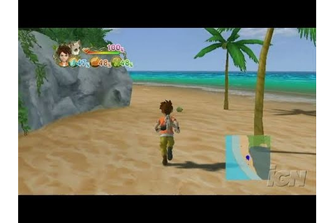 Lost in Blue: Shipwrecked! Nintendo Wii Gameplay - Beach ...