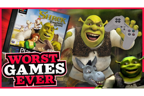 Worst Games Ever - Shrek: Treasure Hunt - YouTube