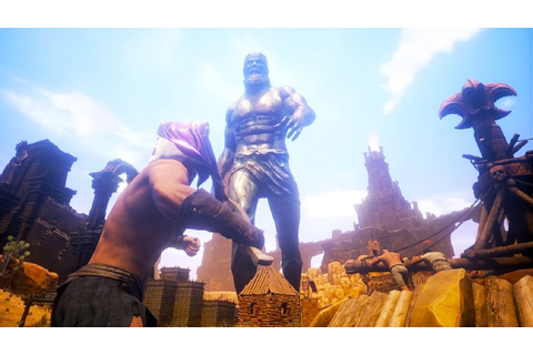 CONAN EXILES New Gameplay Trailer The Open World (Upcoming ...