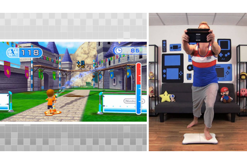 Wii Fit U - Hosedown (Advanced) Gameplay - YouTube