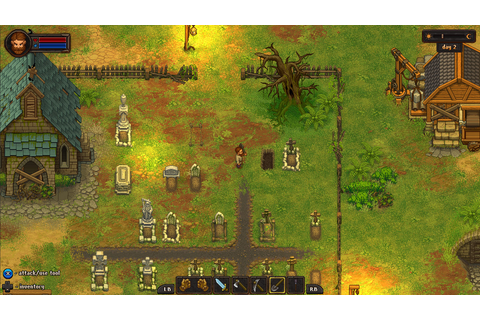 Indie Game Buzz | Graveyard Keeper a cemetery management ...