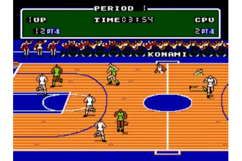 Double Dribble - NES - Automatic Shot - YouTube