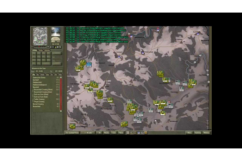 Command Ops: Battles of the Bulge video game AAR Allies v ...