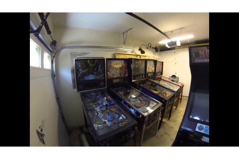Current Climate Controlled Garage Pinball & Arcade Game ...