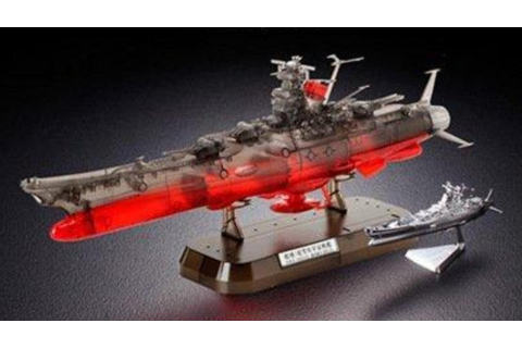 Space Battleship Yamato 1/1000 CLear version Bandai - YouTube