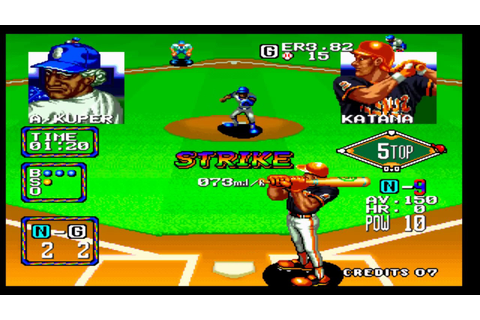Baseball Stars 2 | Neo Geo | Arcade | Longplay HD - YouTube