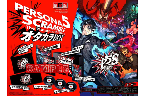 Persona 5 Scramble for PS4 and Nintendo Switch Gets ...