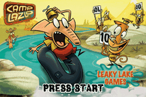 Play Camp Lazlo - Leaky Lake Games Nintendo Game Boy ...